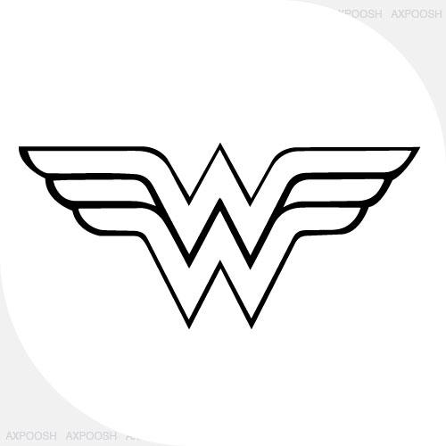 طرح وکتور (WONDER WOMAN)